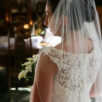 The Bride in a reflective moment
