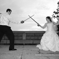 Sword Fight at Lake Scranton